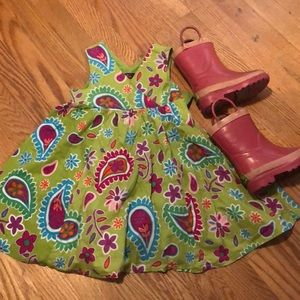 Other - Paisley print dress
